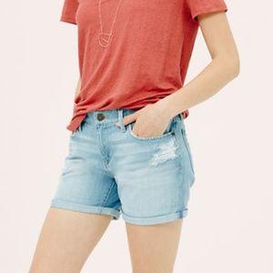 Lou & Grey Slouchy Skinny Denim Shorts